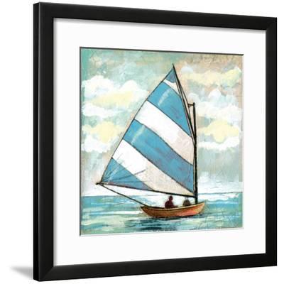 Sailboats I-Gregory Gorham-Framed Art Print