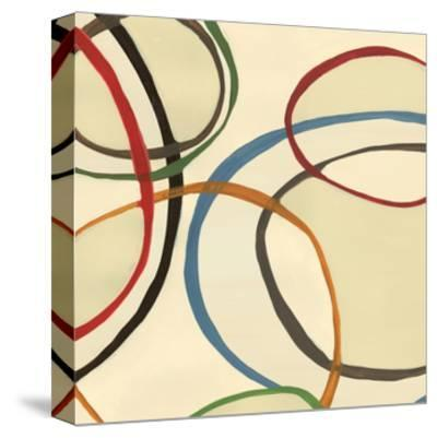 13 Thursday Square II Circle Abstract-Jeni Lee-Stretched Canvas Print