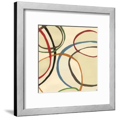 13 Thursday Square II Circle Abstract-Jeni Lee-Framed Art Print
