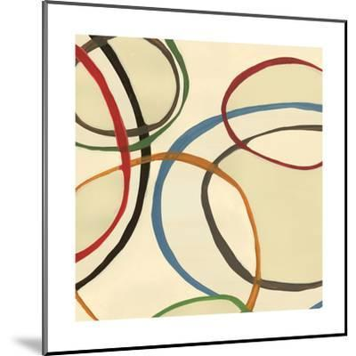 13 Thursday Square II Circle Abstract-Jeni Lee-Mounted Art Print