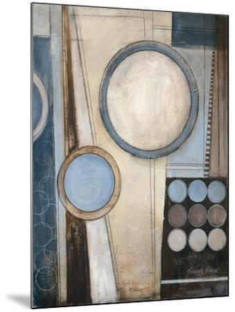 Blue Notes I-Kimberly Poloson-Mounted Premium Giclee Print