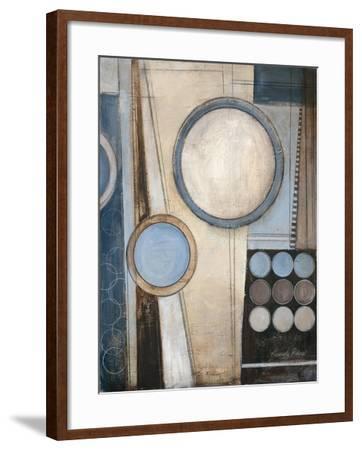 Blue Notes I-Kimberly Poloson-Framed Premium Giclee Print