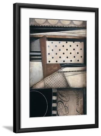 Fancy Letters II-Kimberly Poloson-Framed Premium Giclee Print