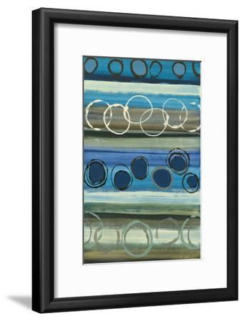 By the River-Jeni Lee-Framed Art Print