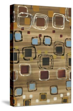 Square Dance-Jeni Lee-Stretched Canvas Print