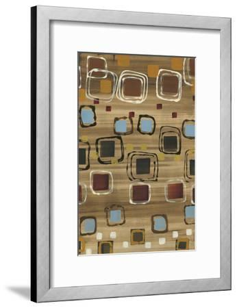 Square Dance-Jeni Lee-Framed Premium Giclee Print