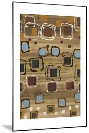 Square Dance-Jeni Lee-Mounted Premium Giclee Print