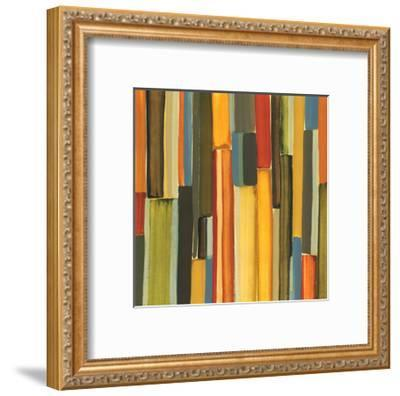 Strata II-Jeni Lee-Framed Art Print