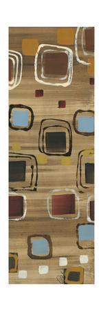 Square Dance Panel II-Jeni Lee-Framed Premium Giclee Print