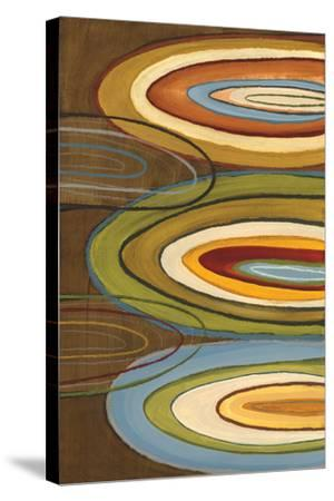 Portlandia Ovals-Jeni Lee-Stretched Canvas Print
