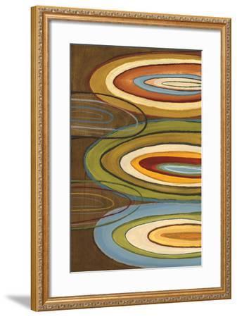 Portlandia Ovals-Jeni Lee-Framed Art Print