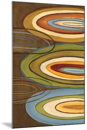 Portlandia Ovals-Jeni Lee-Mounted Art Print
