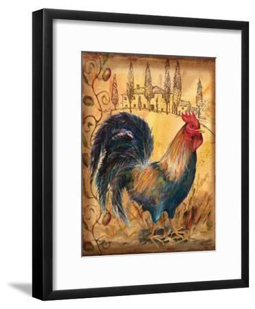 Tuscan Rooster I-Todd Williams-Framed Art Print