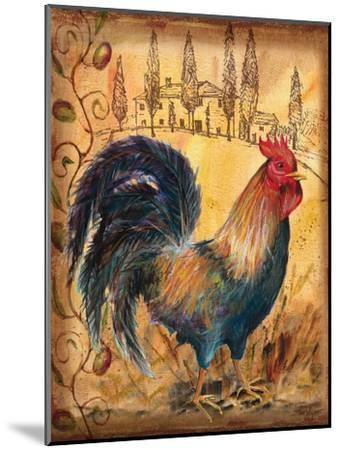Tuscan Rooster I-Todd Williams-Mounted Art Print