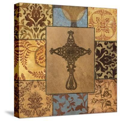 Patchwork Cross I-Todd Williams-Stretched Canvas Print
