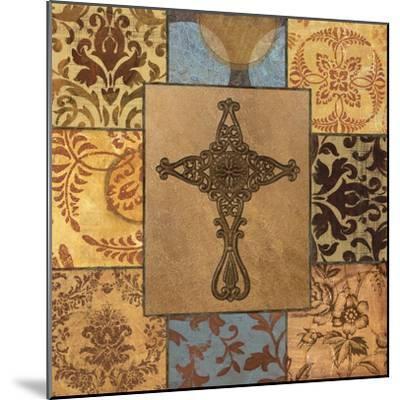 Patchwork Cross I-Todd Williams-Mounted Art Print