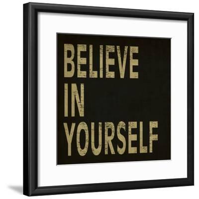 Believe in Yourself-N^ Harbick-Framed Art Print