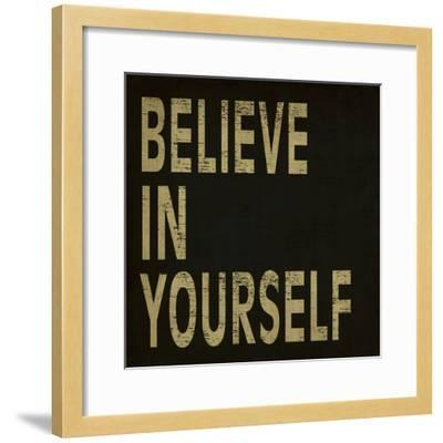 Believe in Yourself-N^ Harbick-Framed Art Print