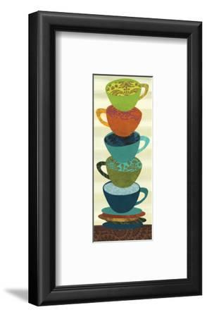 Stacking Cups I-Jeni Lee-Framed Premium Giclee Print