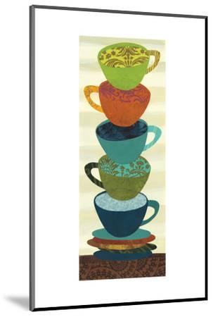 Stacking Cups I-Jeni Lee-Mounted Premium Giclee Print
