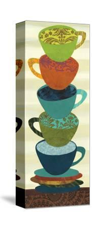 Stacking Cups I-Jeni Lee-Stretched Canvas Print