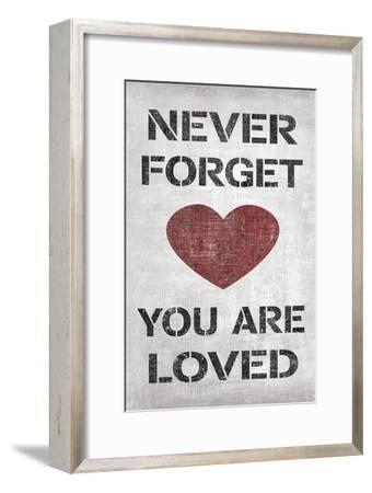 You are Loved-N^ Harbick-Framed Art Print