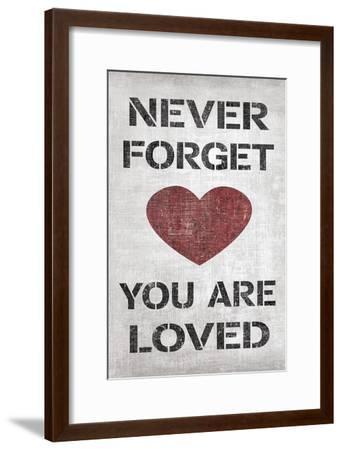 You are Loved-N^ Harbick-Framed Art Print