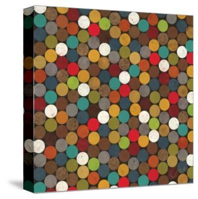 Dot Obsession II-Jeni Lee-Stretched Canvas Print