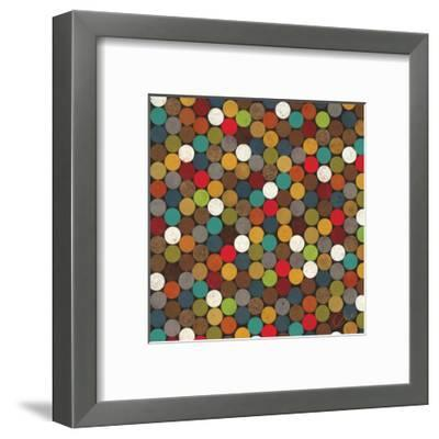 Dot Obsession II-Jeni Lee-Framed Premium Giclee Print