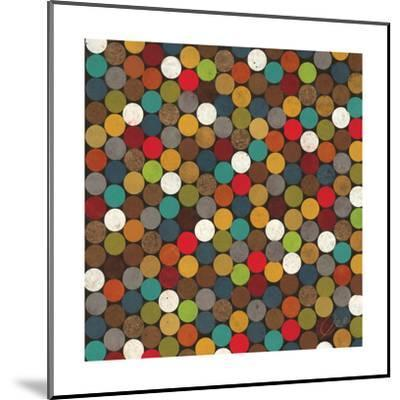 Dot Obsession II-Jeni Lee-Mounted Premium Giclee Print