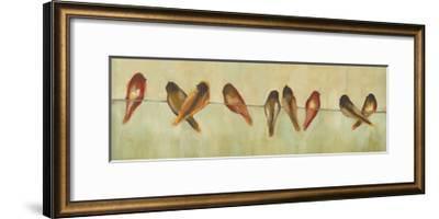 Birds of a Feather Panel II-Jeni Lee-Framed Art Print