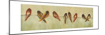 Birds of a Feather Panel II-Jeni Lee-Mounted Art Print