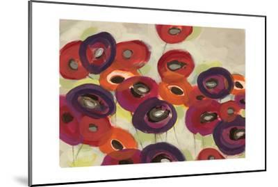 Poppy Garden-Jeni Lee-Mounted Art Print