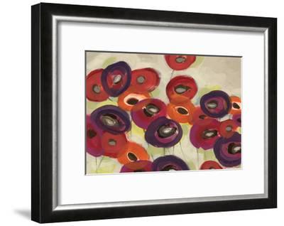 Poppy Garden-Jeni Lee-Framed Art Print