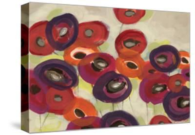Poppy Garden-Jeni Lee-Stretched Canvas Print