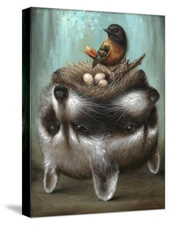 Perilous Nest-Jason Limon-Stretched Canvas Print