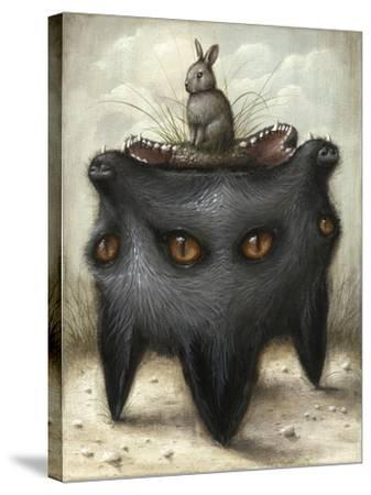 Perilous Hunch-Jason Limon-Stretched Canvas Print