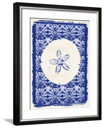 Coastal Batik 1-Lola Bryant-Framed Art Print
