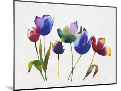Rainbow Tulips 2-Paulo Romero-Mounted Premium Giclee Print