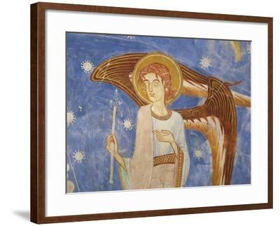 Angel on the West Wall--Framed Giclee Print
