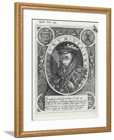 William Cecil, 1st Baron Burghley-William Rogers-Framed Giclee Print