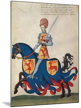 Giordano Forzate Capodilista--Mounted Giclee Print