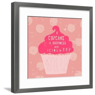 Happy Cupcake-Lola Bryant-Framed Art Print