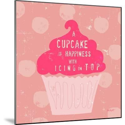 Happy Cupcake-Lola Bryant-Mounted Art Print