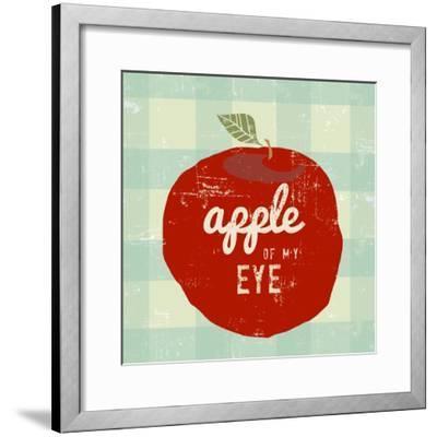 Gingham Apple-Lola Bryant-Framed Art Print