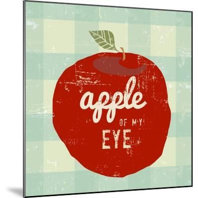 Gingham Apple-Lola Bryant-Mounted Art Print