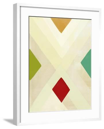 Praire Intersections-Paulo Romero-Framed Art Print