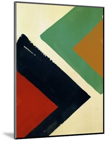 Thatta way-Paulo Romero-Mounted Premium Giclee Print