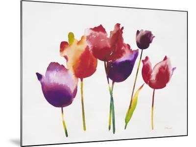 Rainbow Tulips 1-Paulo Romero-Mounted Art Print