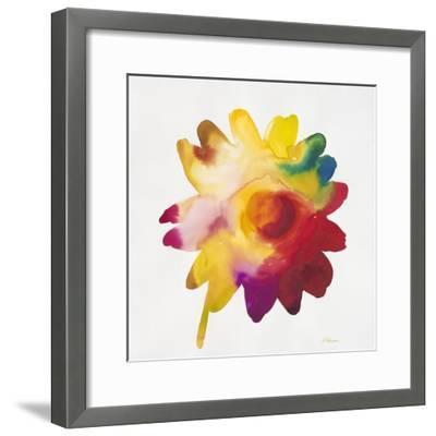 Rainbow Daisy 1-Paulo Romero-Framed Art Print